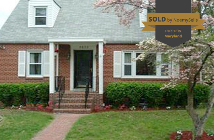 SOLD in Temple Hills, MD 20748