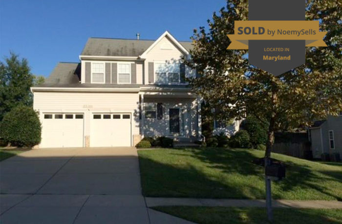 SOLD in Fort Washington, MD 20744