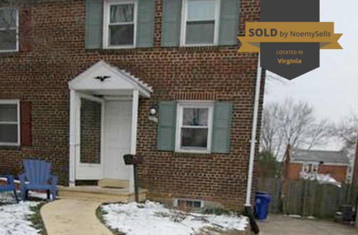 SOLD in Arlington, VA 22204