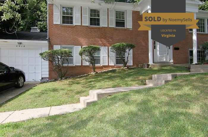 SOLD in Annandale, VA 22003