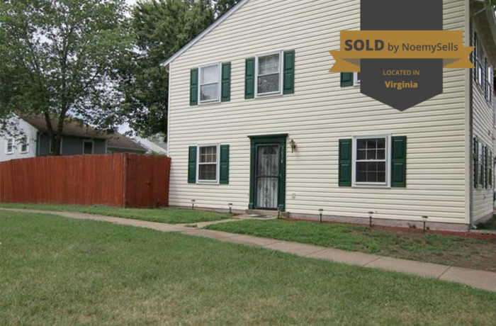 SOLD in Manassas, VA 20111