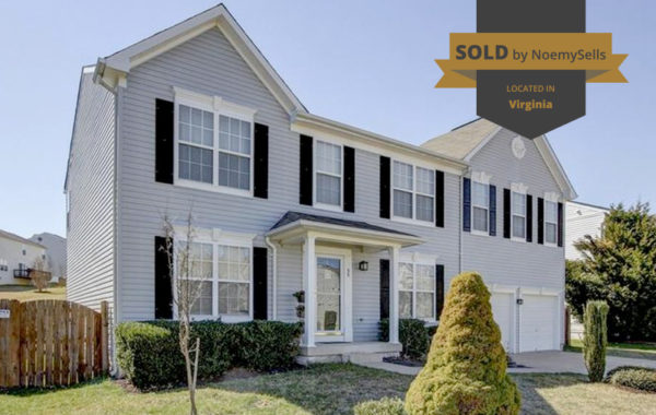 SOLD in Stafford, VA 22556