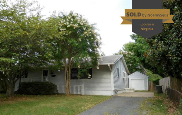 SOLD in Woodbridge, VA 22191