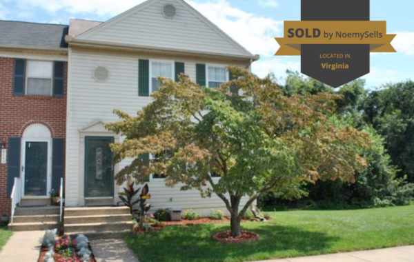 SOLD in Manassas, VA 20110